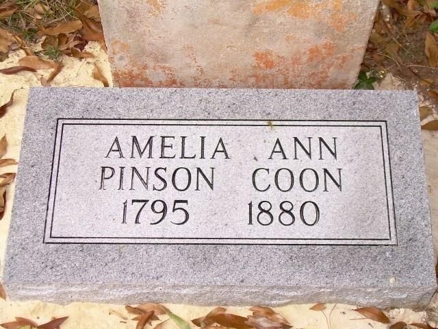 Amelia Ann PINSON Coon