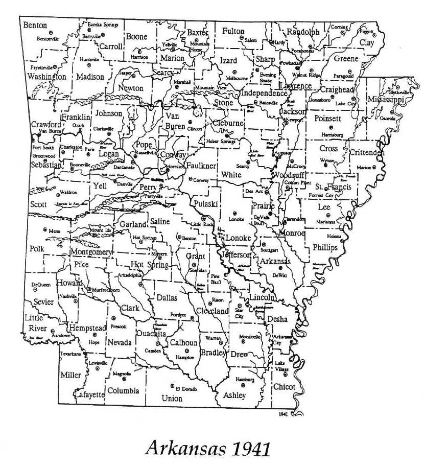 Bradley County Maps And Townships