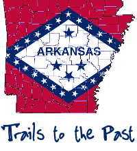 Arkansas Trails To The Past Logo