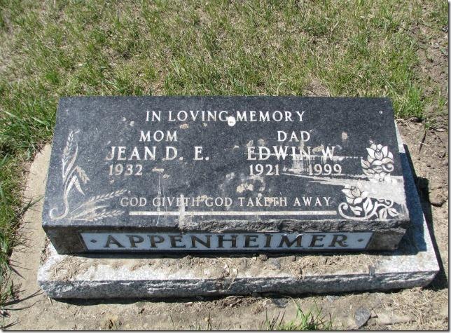 Saskatchewan Cemeteries Project - Westphalia Cemetery