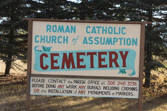 Saskatchewan Cemeteries Project - Assumption Roman Catholic