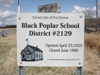 Black Poplar School 2129, SE 9 Tsp 29 Rge 5 West of the 2nd meridian, Spirit Lake