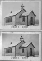 Bimbo School District 3288, one room school house picture