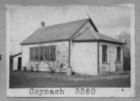 COYNACH 3360 1914 classes 1915 1952  SE of SE 13 Township 24 Range 18 W of the 2 nd Meridian near Southey 1948 Conveyed 1951-Closed. Location also given as SE 13-19-24 in text.