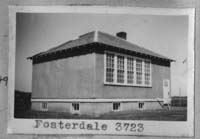 FOSTERDALE 3623         Township 22 Range 21 W of the 2 nd Meridian near Gibbs 1949 Gibbs P.O. NW 28-22-21-W2   Also recorded as FOSTERDALE School District 3723 see note below.
