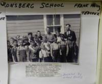 KRONSBERG SCHOOL DISTRICT 4922, one room school house picture