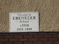 Village of Ebenezer School 3268 , Saskatchewan