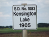Kensington Lake School District 1083 Southwest section 11 township 23 range 33 west of the first meridian, Bredenbury, 1918-1946, Bredenbury School, 50 57' 52'' N 102 00' 22'' ,