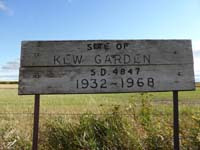 Kew Gardens School District 4847 NW quarter of section 09- township 41-range 16 west of the 2nd meridian 1930-1968 Near Lac Vert, Saskatchewan 2-41-18-W2