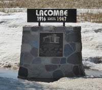 Lacombe School District 37141916-1947North West section 31 township 41 range 20 West of the 2nd meridian