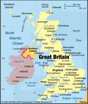 Lost Landkort Over England Eksperten Computerworld