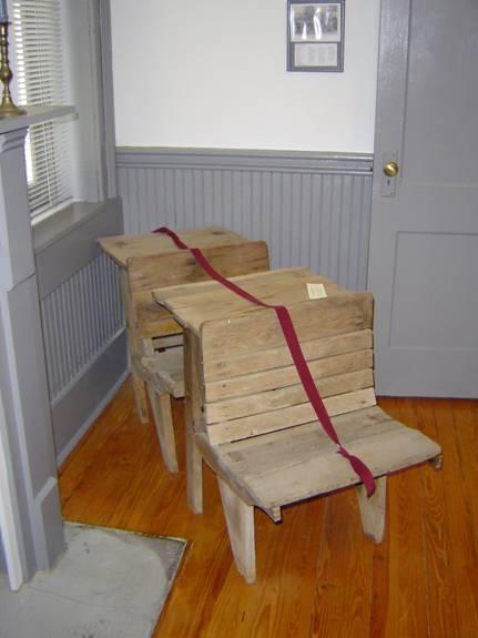 Old Student Desks