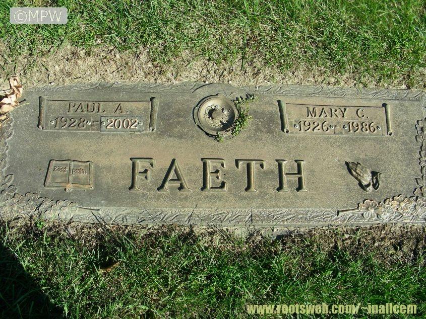 Covington Memorial Garden Cemetery Aboite Township Allen County ...
