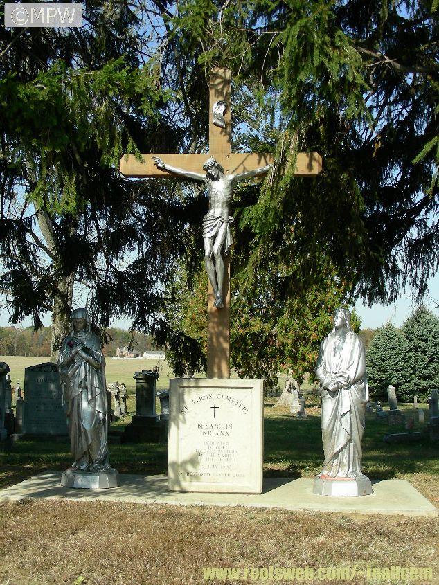Old St. Louis Besancon Cemetery