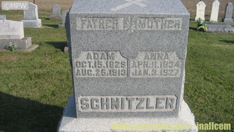 Saint Aloysius Cemetery Pleasant Township Allen County Indiana ...