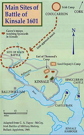 Christmas Eve 1601 The Battle Of Kinsale