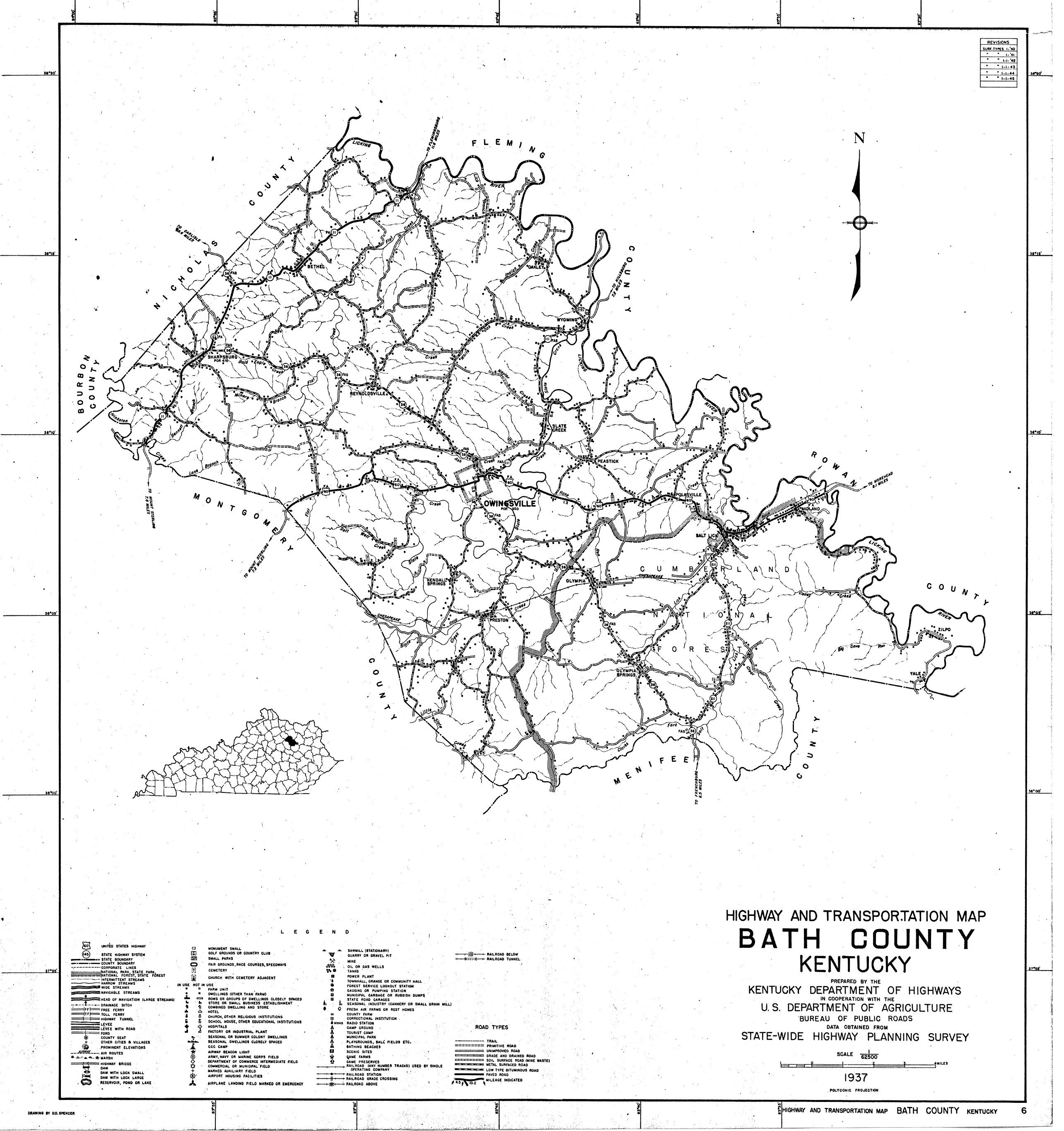 Maps Map Links And Aerial Photos - County map of kentucky
