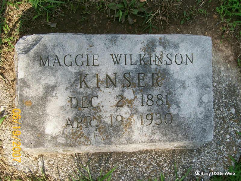 Maggie (WILKINSON) (GRAVE)