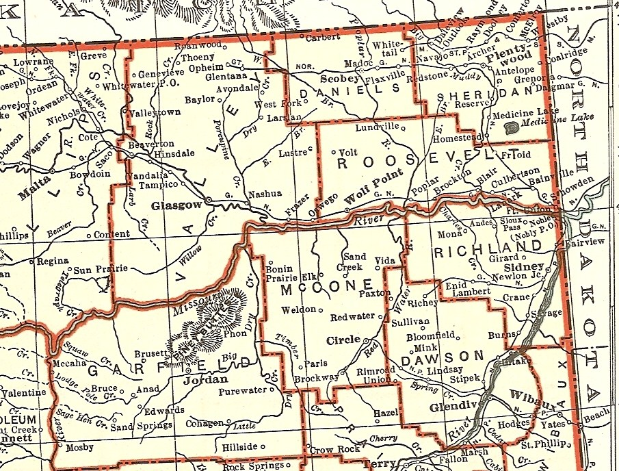 Valley Co Maps