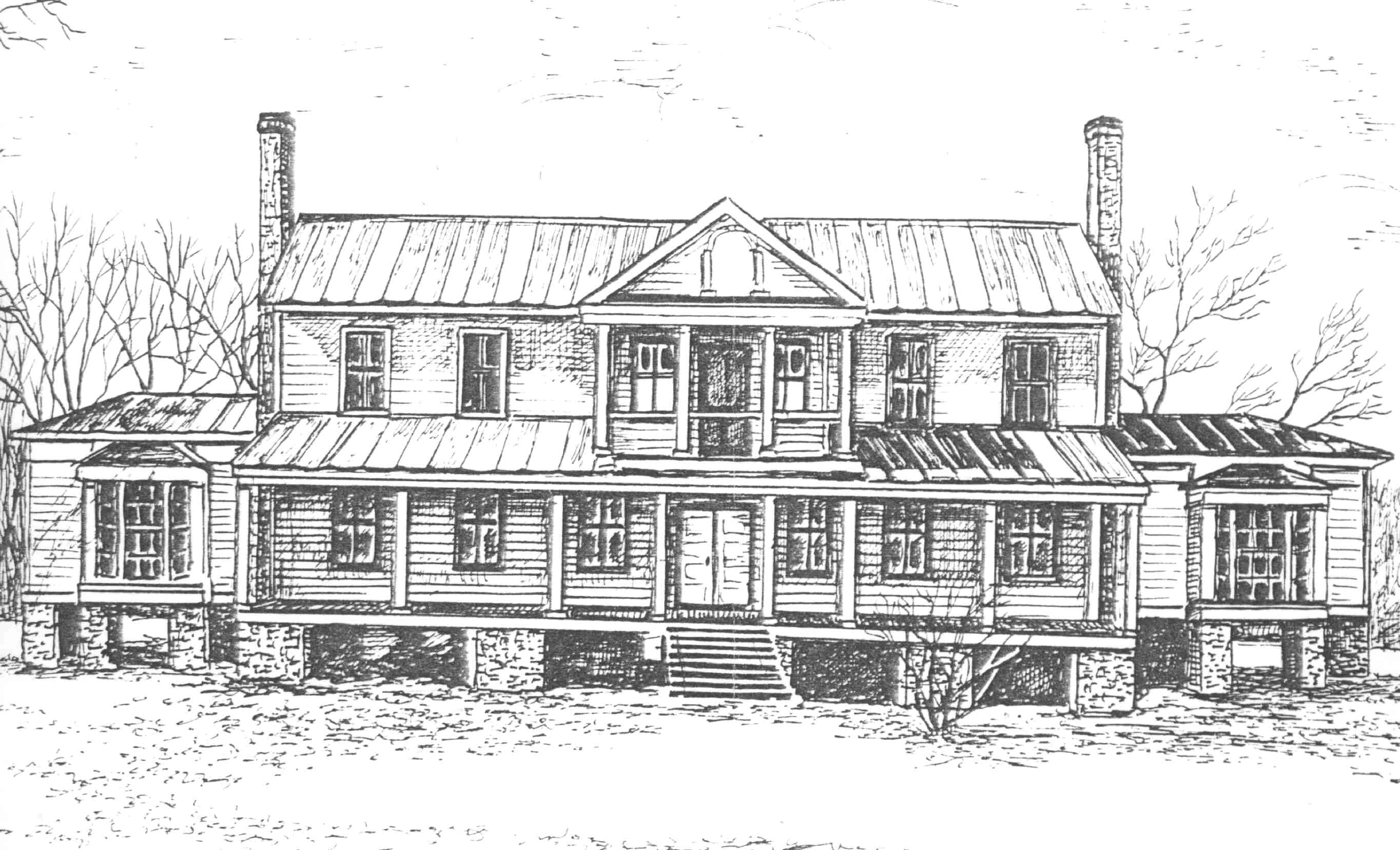 Bertie County, NCGenWeb Project Page -- Homes on red brick southern plantation homes, colonial southern plantation homes, creepy southern plantation homes, small southern plantation homes,