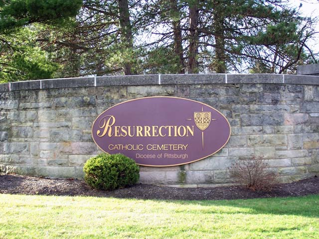 Resurrection Cemetery-M-Z, Moon Twp , PA