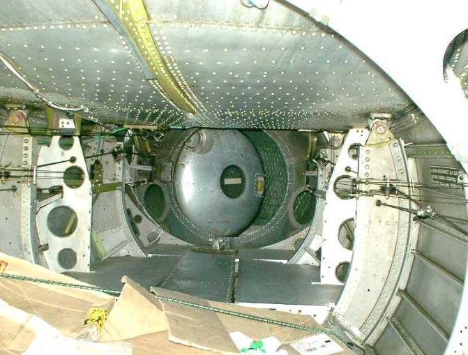 Tail-Gunner s pressurized  B 29 Superfortress Tail Gunner