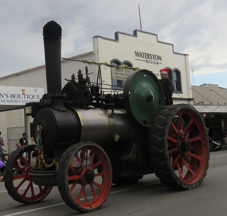 Traction Engines in South Canterbury, N Z