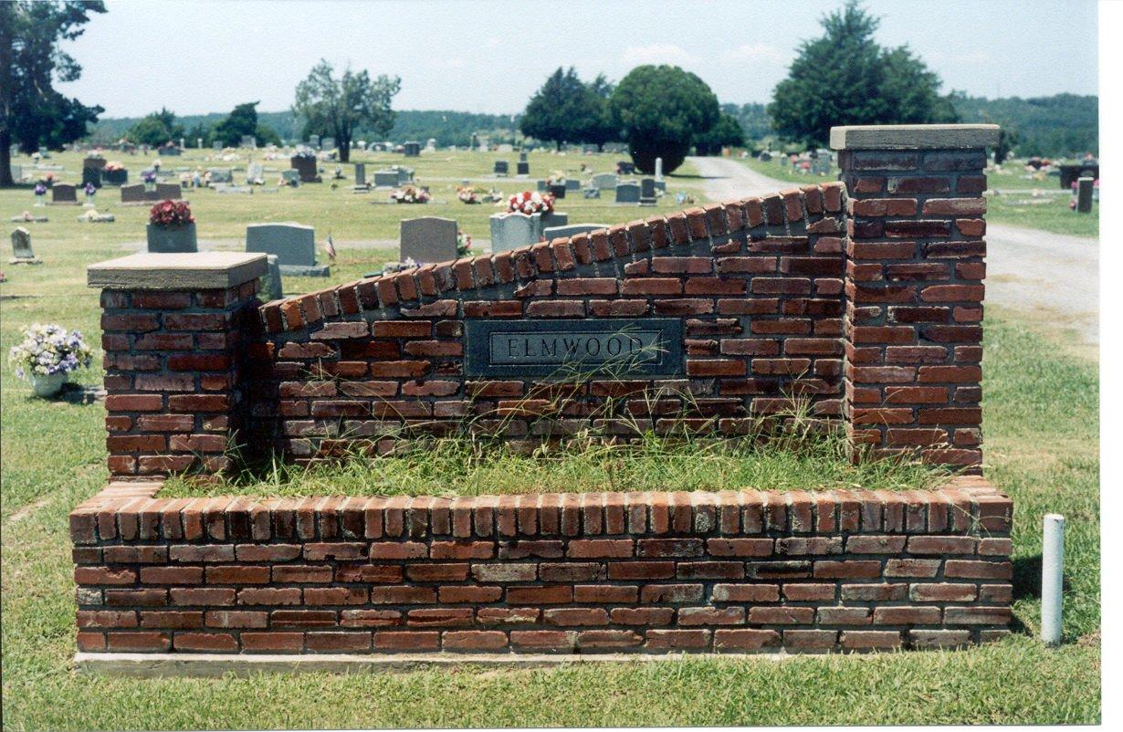 Elmwood Cemetery Entrance Sign