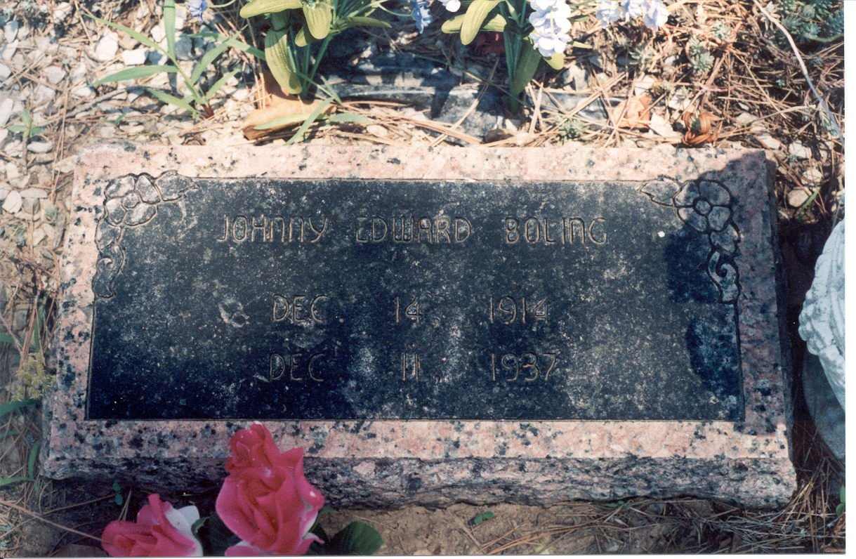 Johnnie Boling Marker