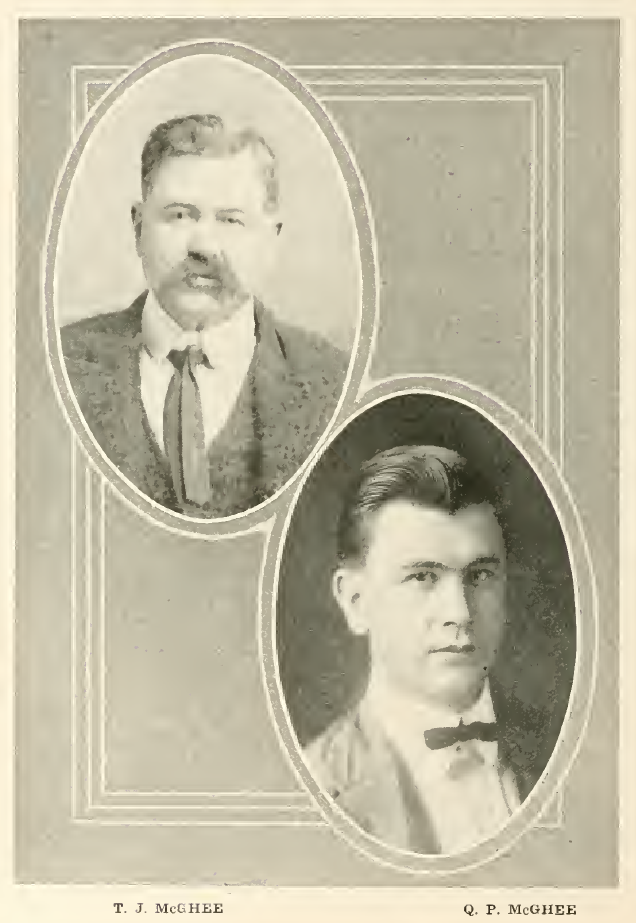George and Victoria (Fuller) McCoy were the parents of William B., Ida