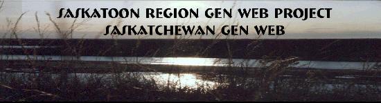 Saskatoon Gen Web banner