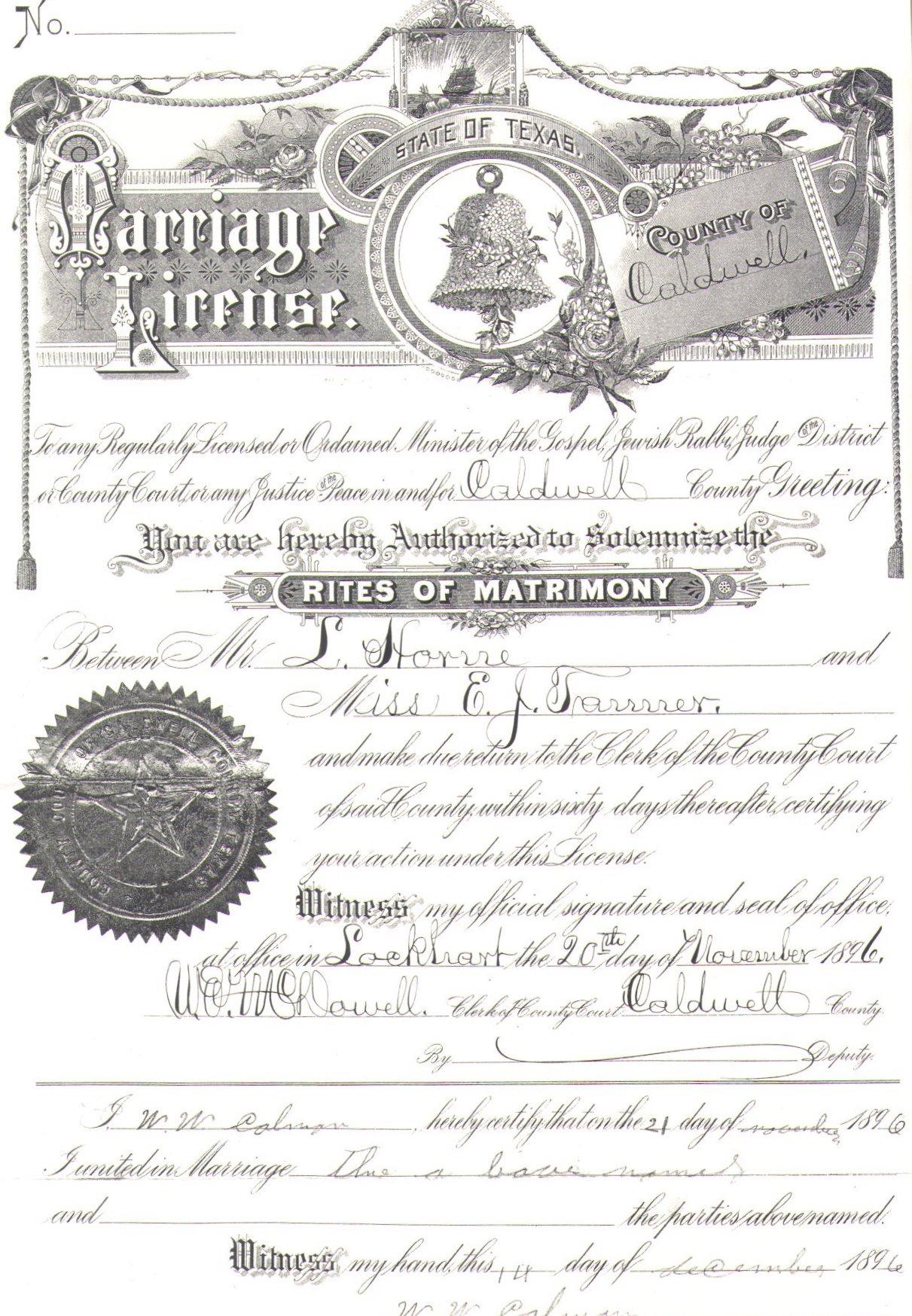 texas public records dallas marriage licenses
