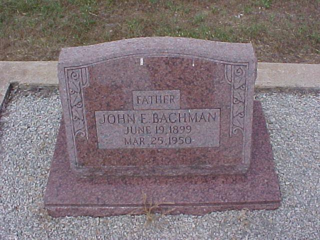 Tombstone of John Bachman