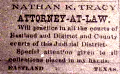 Ad--Nathan K. Tracy Attorney