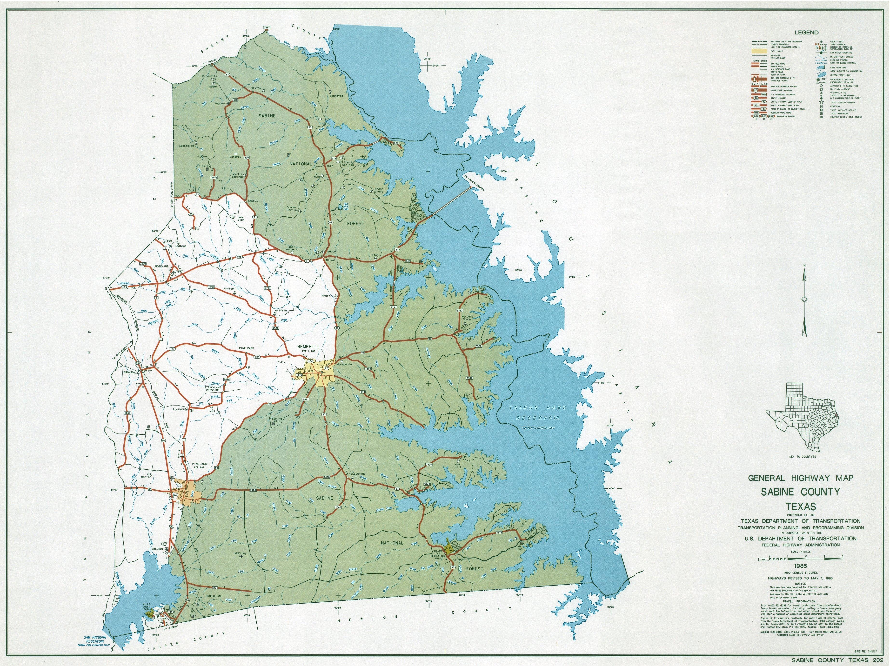 Maps And Demographics Of Sabine County Texas - Counties texas map