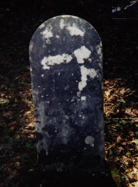 Daniel Emmons Headstone