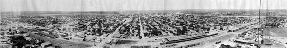 panorama of laredo texas 1920
