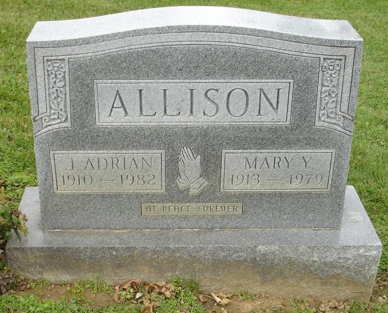 allison  j  adrian  1910 1982