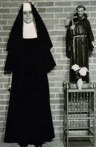 Sister Roselda (Irene Mercier)