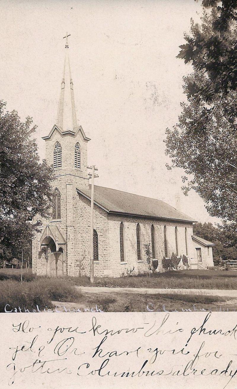 St patrick s catholic church is located on bruce street in doylestown