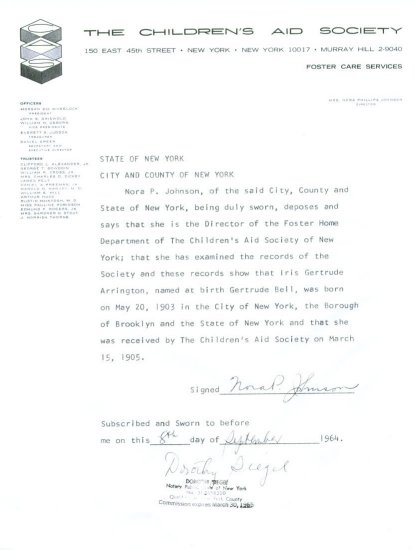 Letter from New York - 1964