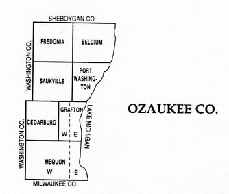Ozaukee County Township Map on map of shorewood, map of greendale, map of wausau, map of menomonee falls, map of lake geneva, map of superior, map of pewaukee, map of elm grove, map of belgium, map of mukwonago, map of fox point, map of eau claire,