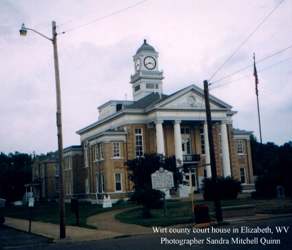 ... front. This picture is hosted on the Wirt County site on Rootsweb