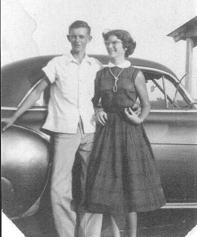 Daddy and Mama, Lonnie Verne Owens and Glenda Sue GRANTLAND Owens, before I was born (ca1956.....)