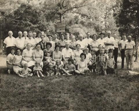 Grandma Owens, My Great Grandmother, Norah GOODSON Owen, at Goodson-Owen Family Reunion (1962).....