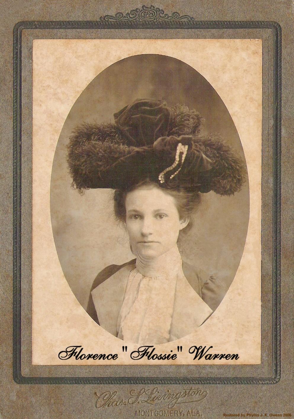 Florence Flossie Warren