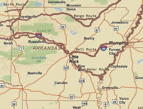 Arkansas Trails To The Past