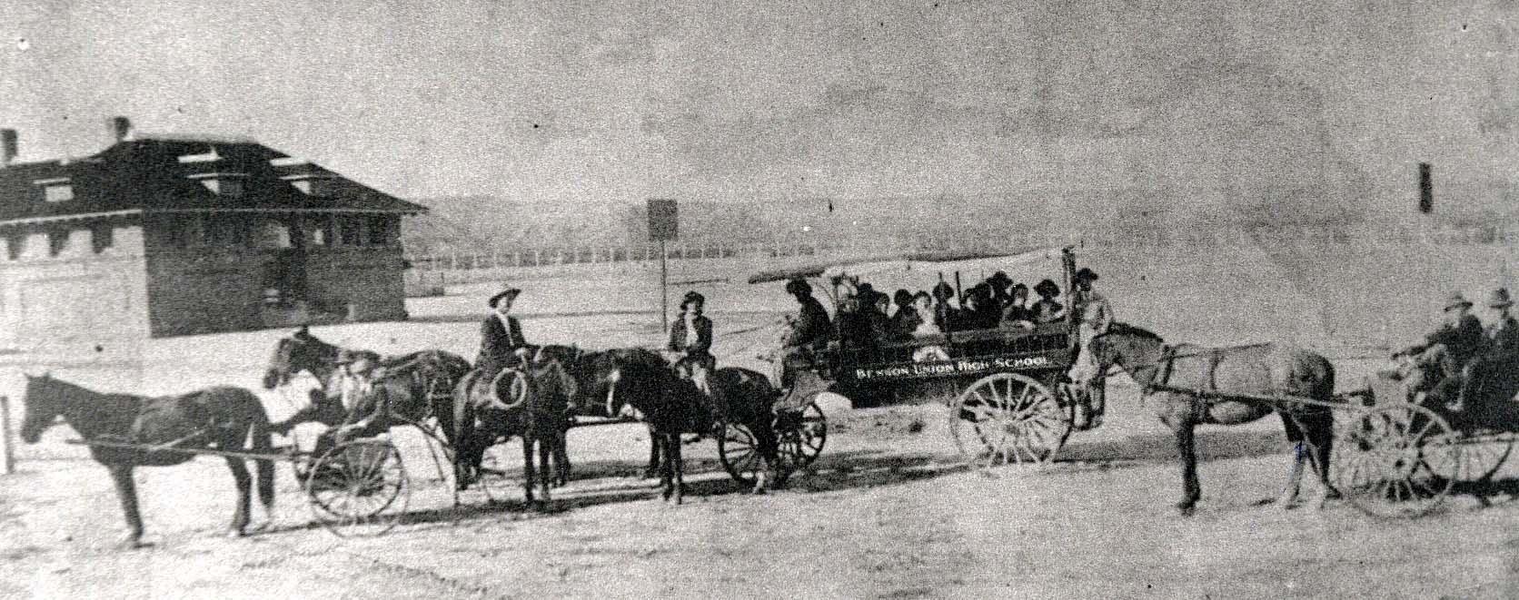 Horsedrawn School Bus