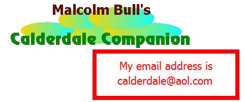 Malcolm Bull's Calderdale Companion : L