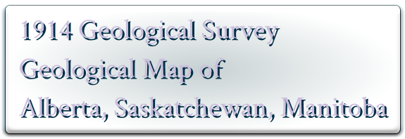 AB SK MB Canada Department of Mines Geological Survey 1914